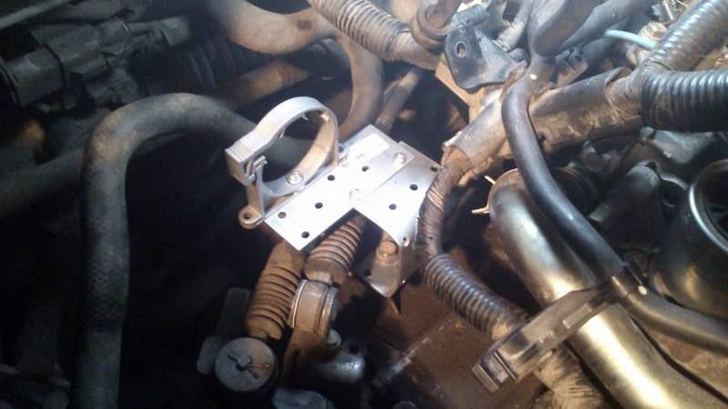 mazda установка подогрева двигателя