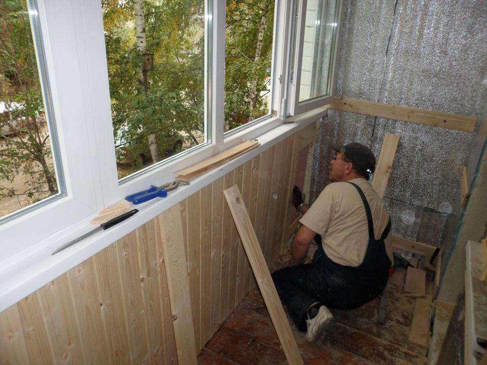 Балкон под ключ цены москва фото..