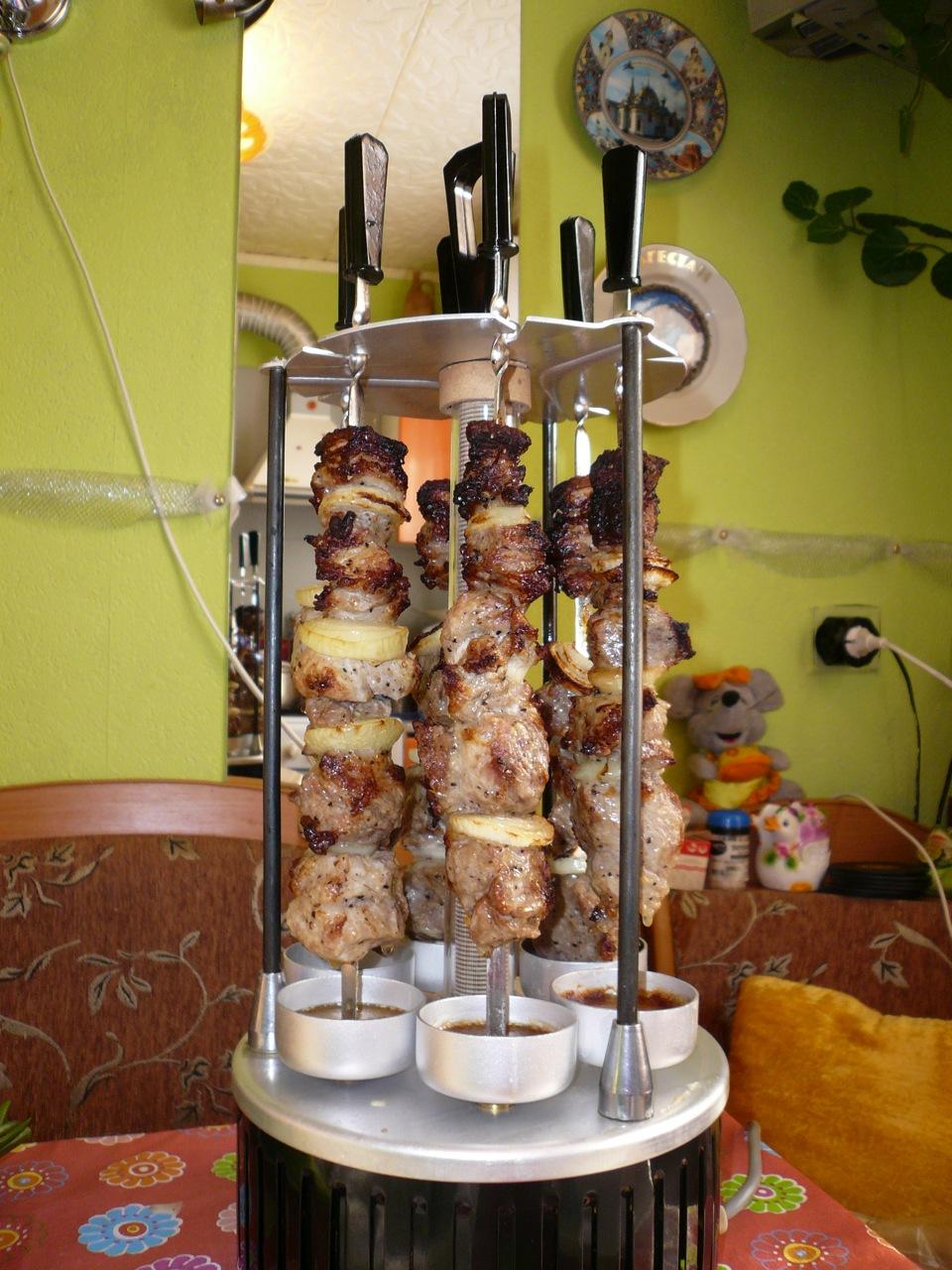 Шашлык в электрошашлычнице » Вкусно и просто. Кулинарные 100