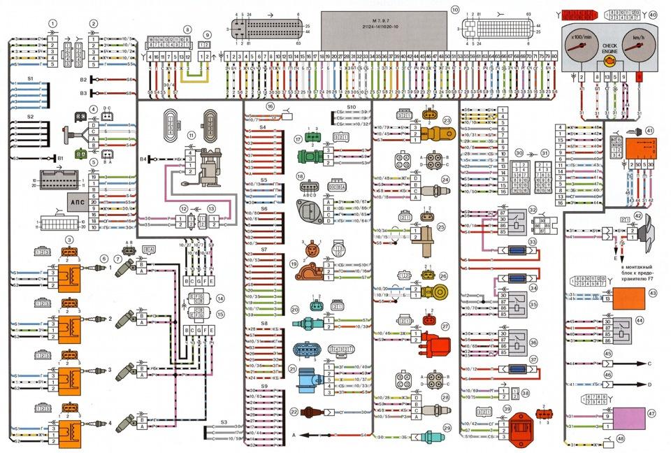 Схема раскладки мотивов