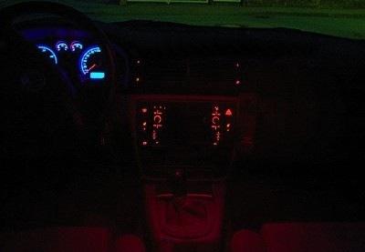 Подсветка салона пассат б5