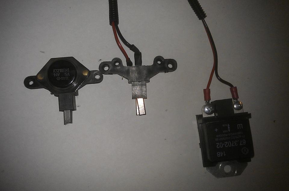 Фото №7 - 3 уровневый регулятор напряжения ВАЗ 2110