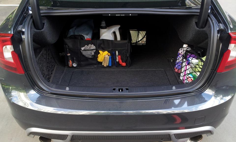 volvo s60 багажник маленький