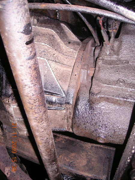 Двигатель и кпп с рк