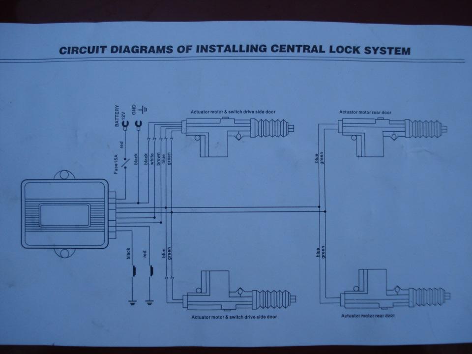 Сигнализация alarm auto security system схема подключения