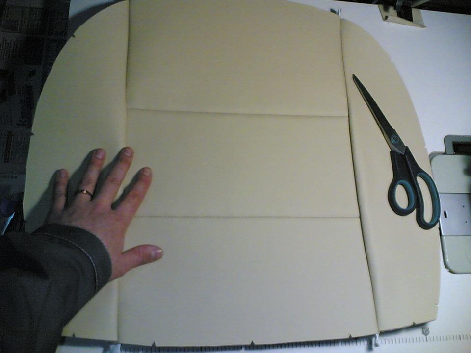 Перетяжка салона своими руками фото