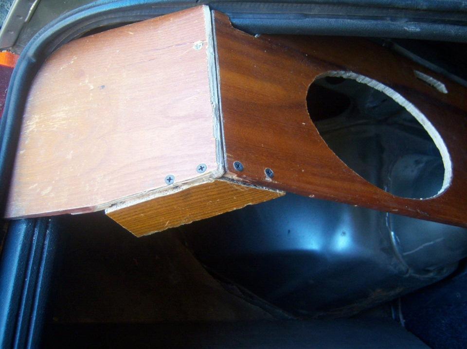 Полка акустическая своими руками ваз 2109