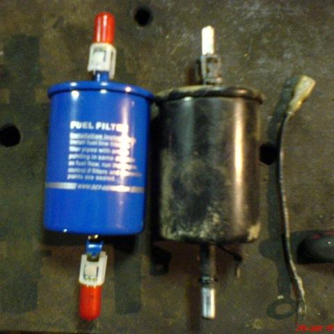 Как заменить топливный фильтр на лачетти хэтчбек