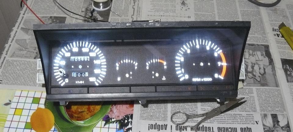 """Пересвет приборки ВАЗ 2109 ВП (высокая панель) - Сообщество """"ВАЗ: Ремонт и Доработка"""" на DRIVE2"""