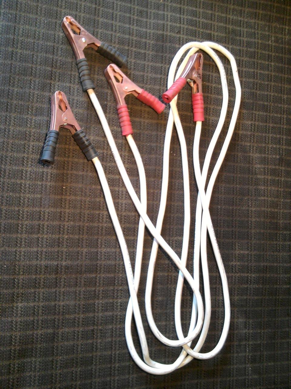 Провода прикуривателя своими руками