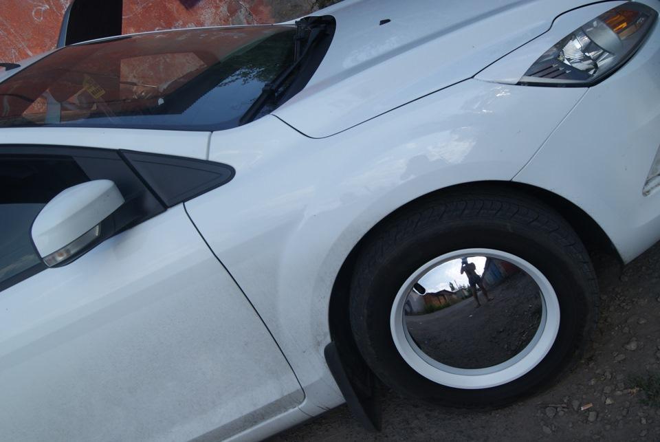 Покрашенные автомобильные колпаки фото форд фокус