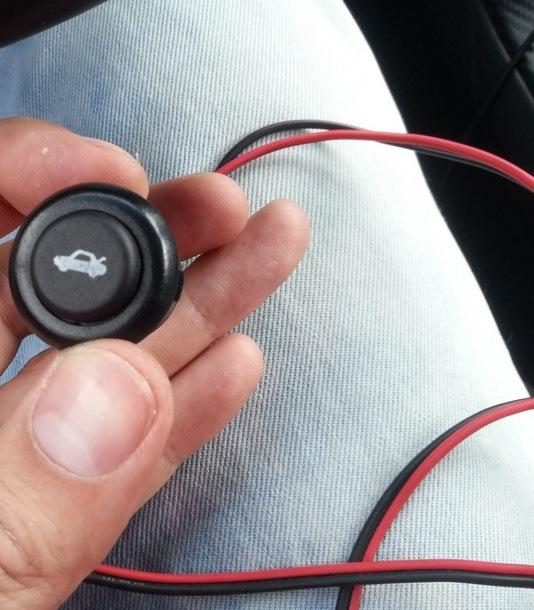 сломалась кнопка открытия багажника chevrolet cruze