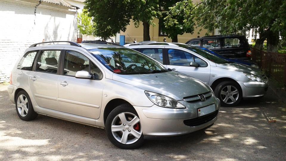 Peugeot 307 sw запчасти