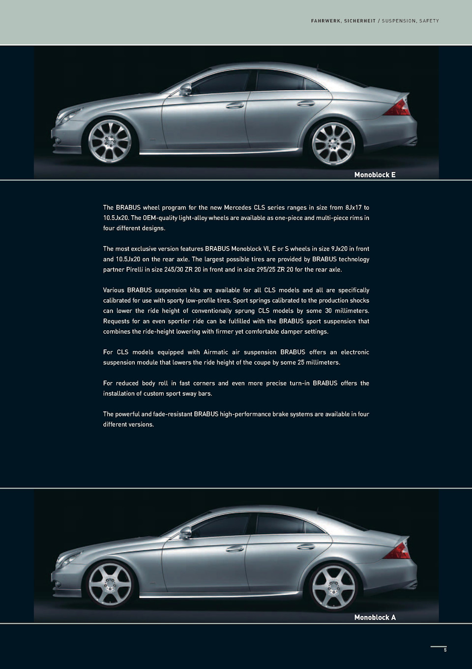 Каталог Brabus for CLS '07 — logbook Mercedes-Benz CLS 2008 on DRIVE2