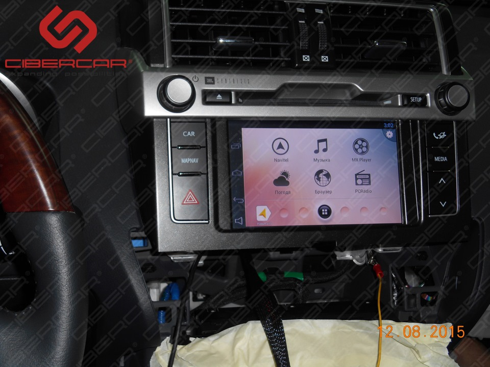 Навигационная система на базе Android 4.2.2 для Toyota Prado 150 Touch&Go 2.