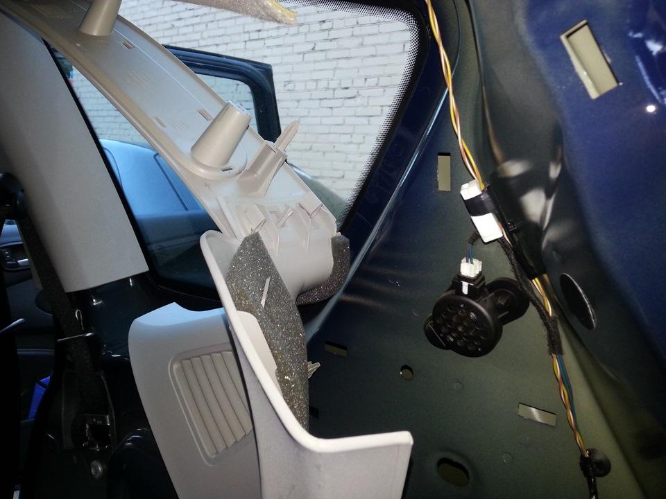 ford s-max установка третьего ряда сидений