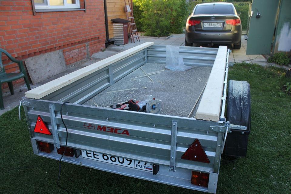 прицепы для перевозки лодок самодельные