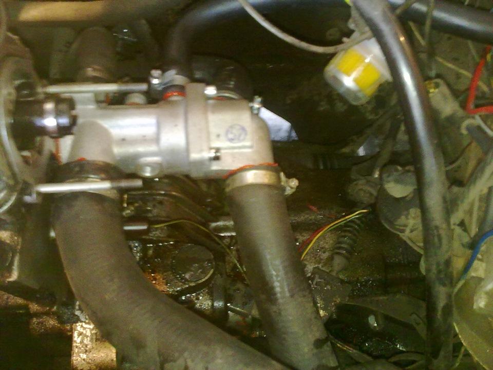 Фото №3 - как выглядит термостат на ВАЗ 2110