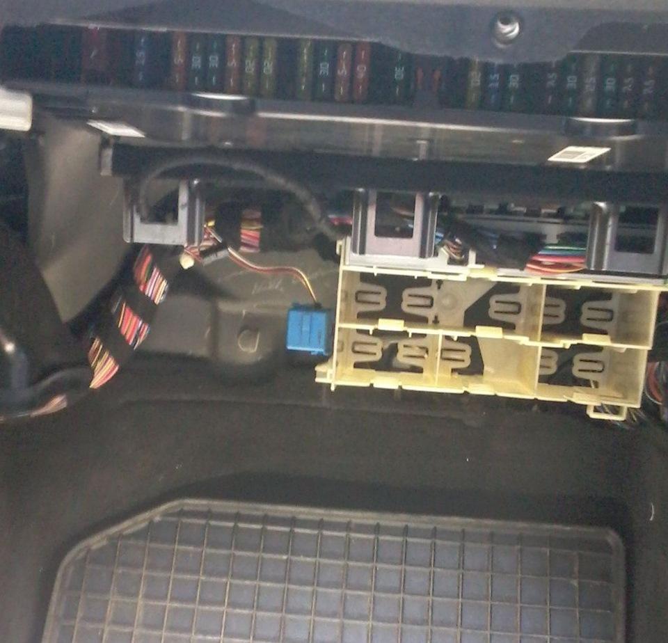 замена штатного магнитола на BMW e39