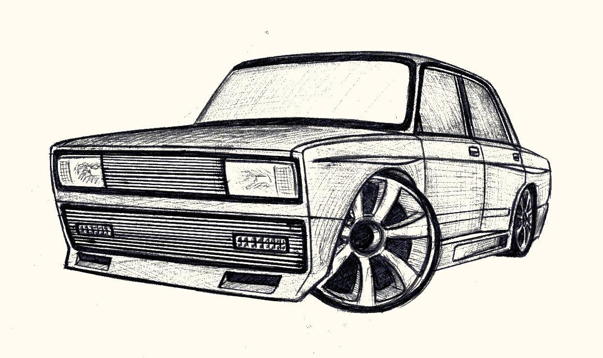 пластинка лицевой картинки карандашом наши русские машины нашем сайте