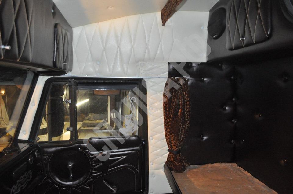 Тюнинг в кабине камаза своими руками фото