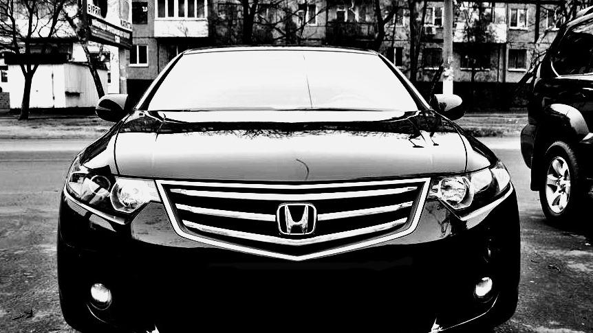 хонда аккорд черная фото