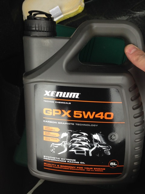 Моторное масло xenum gpx 5w40