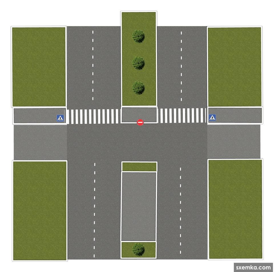 макет дорожного перекрестка картинки поиска нужного
