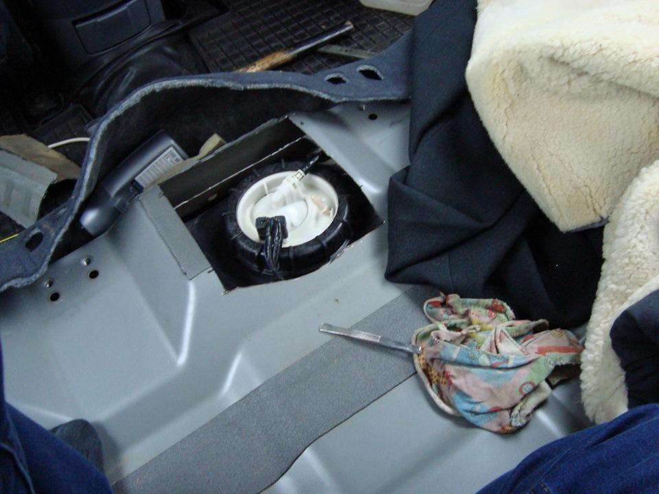 ремонт бензонасос на ford s-max