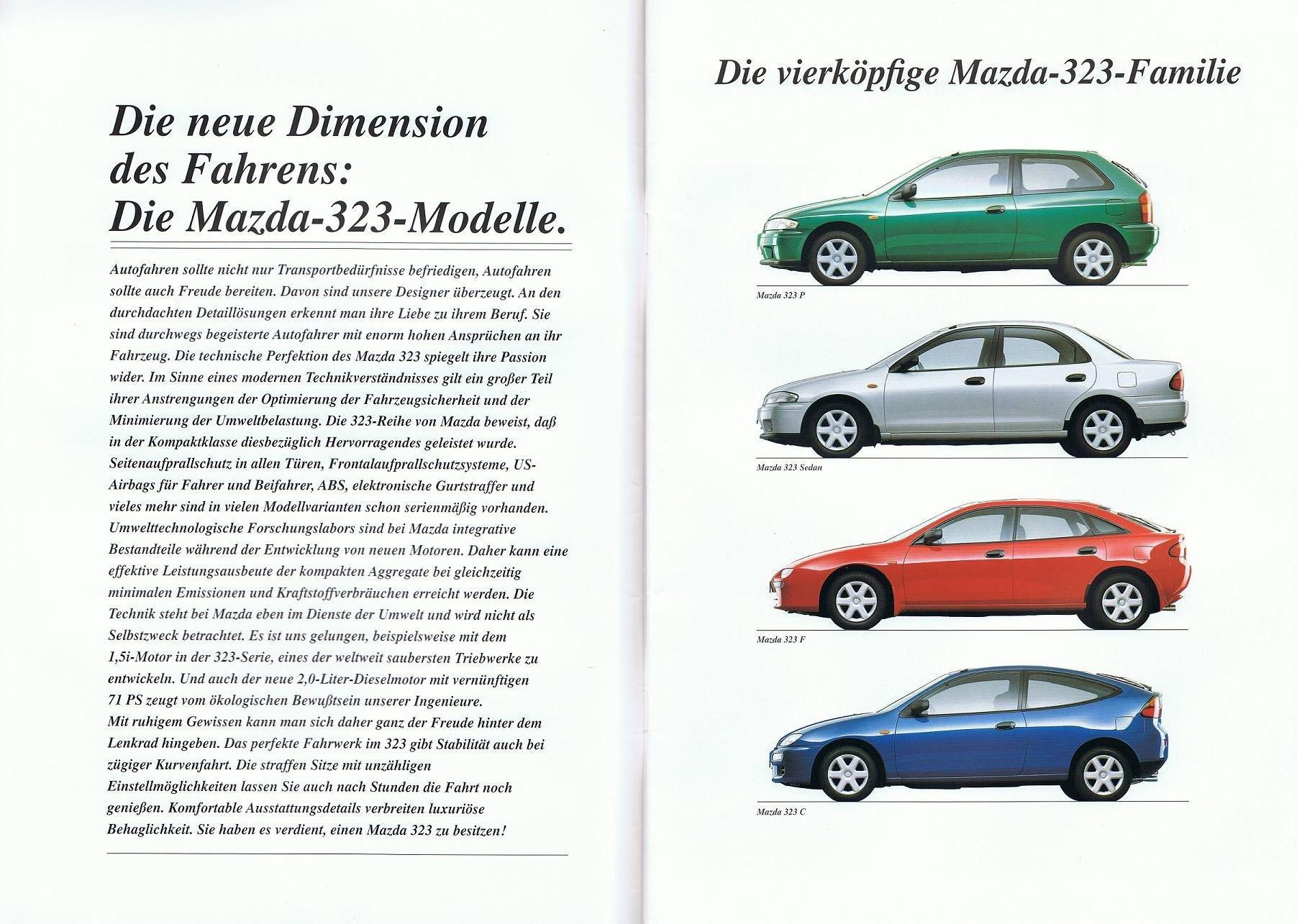 Mazda 323P BA