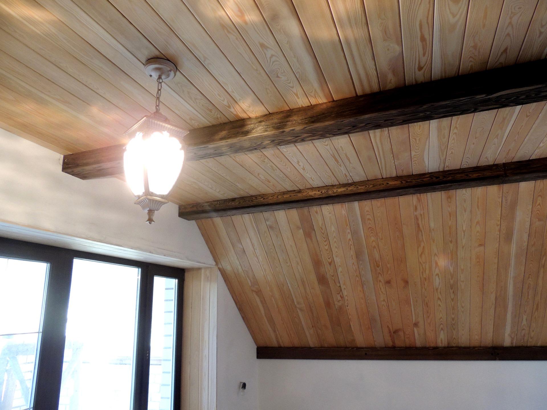 Как сделать подвесной потолок из вагонки