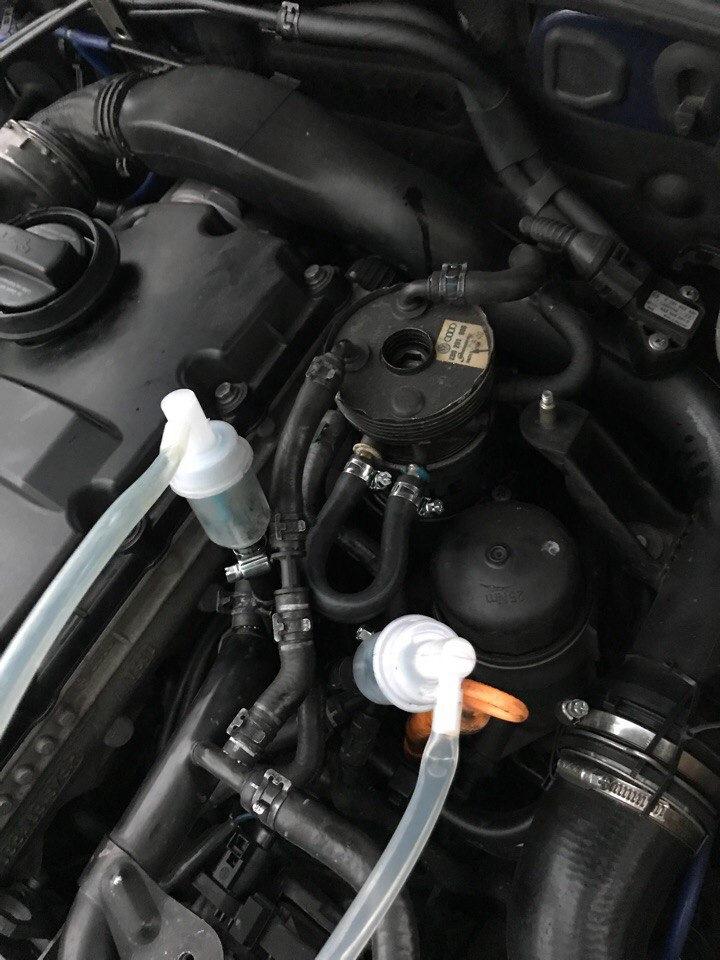 Промывка форсунок дизельного двигателя лавром