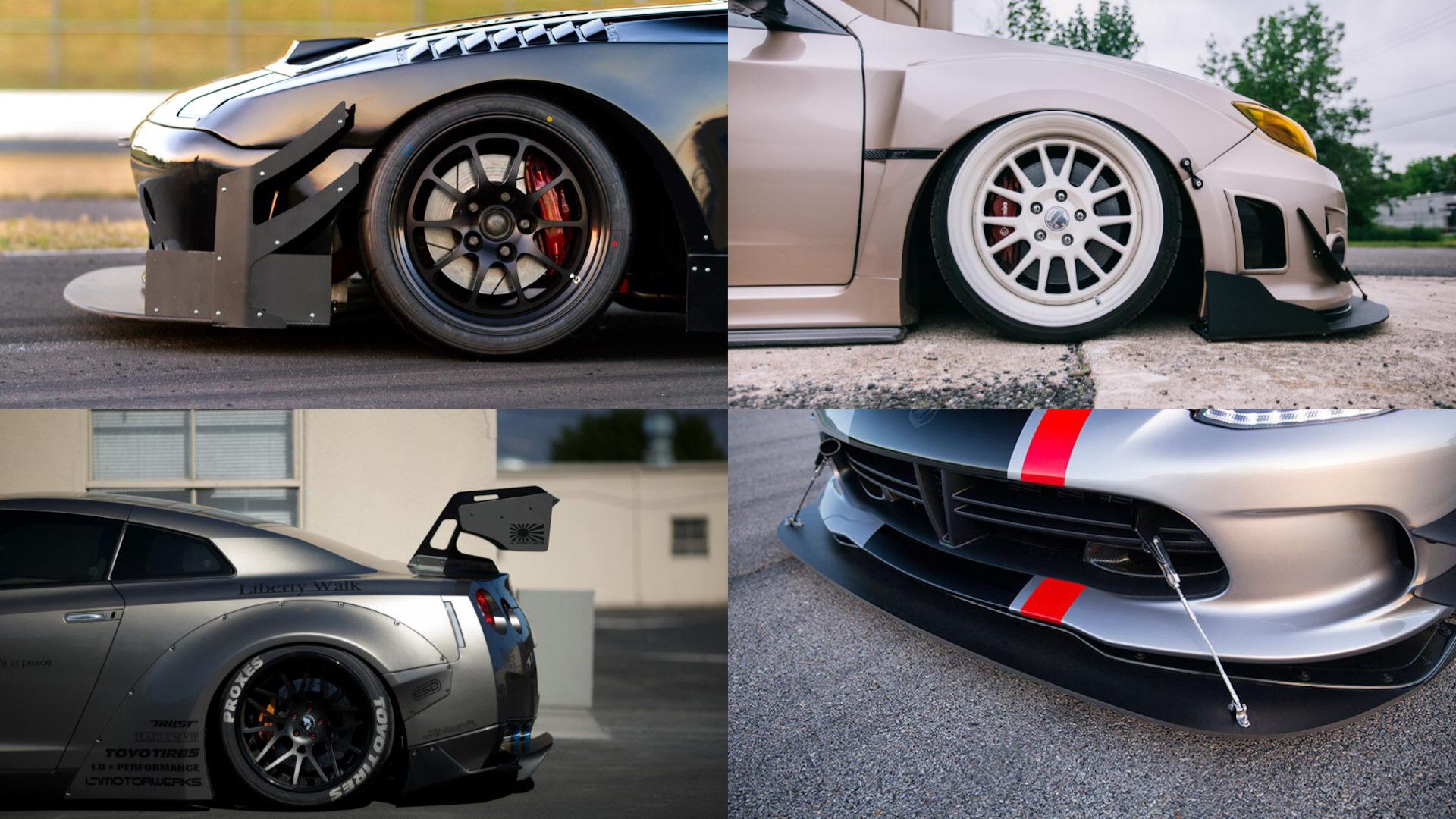 Примеры тюнинговой покраски автомобилей выставка тюнингованных авто 2013