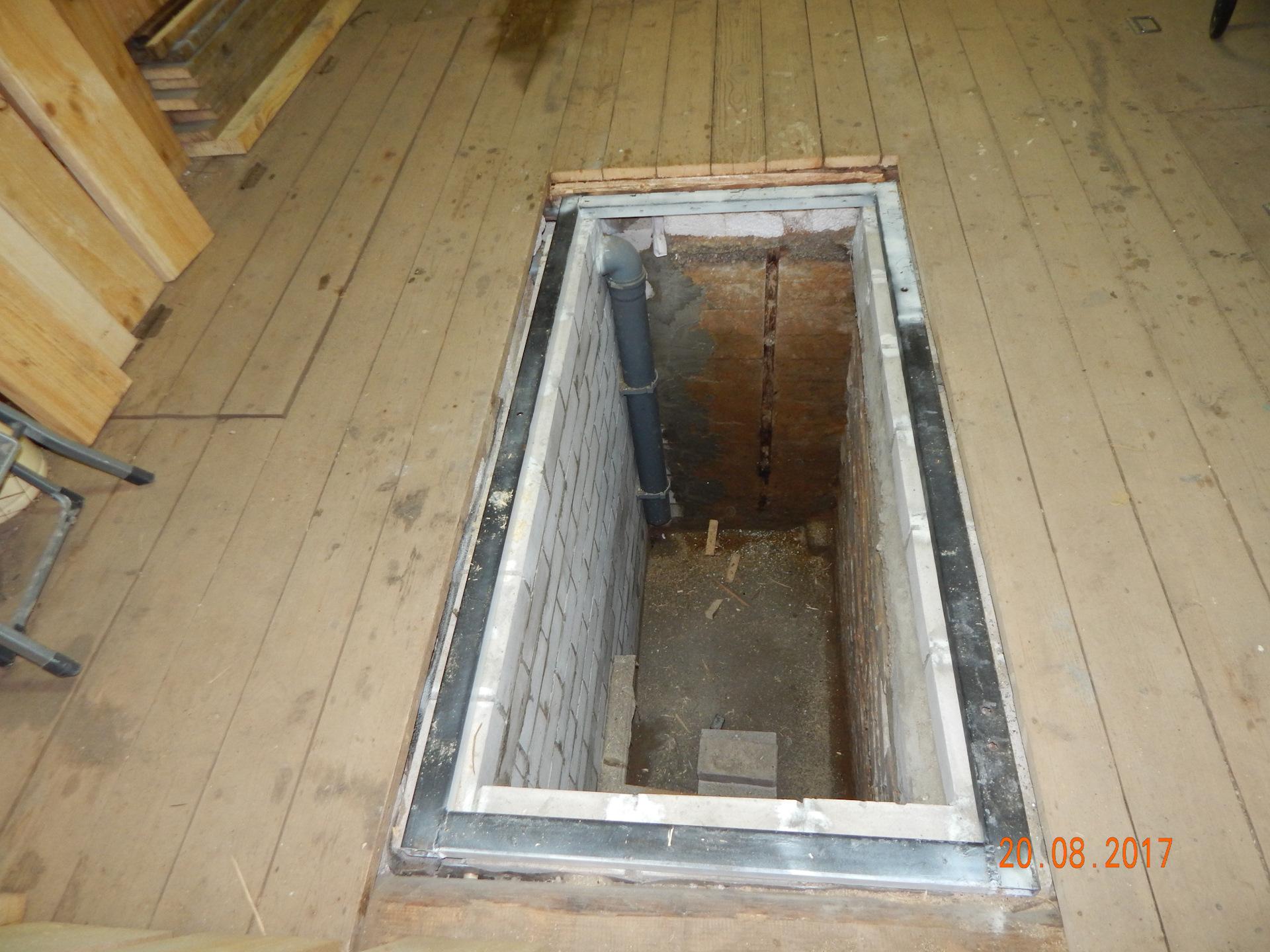 Как сделать яму в гараже если есть подвал своими руками фото 782