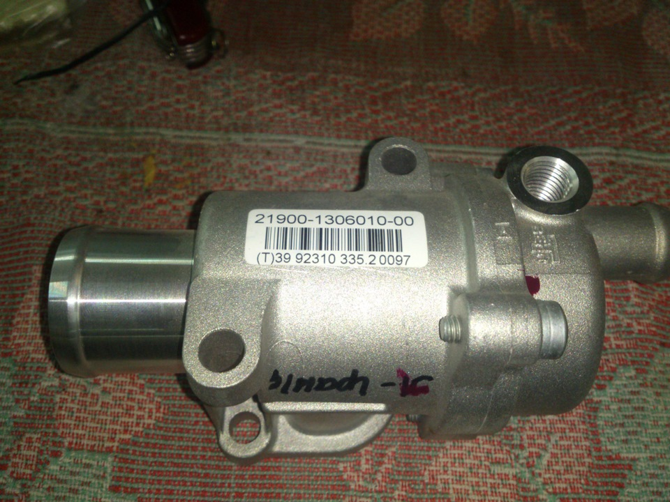 Фото №23 - ВАЗ 2110 ремонт термостата