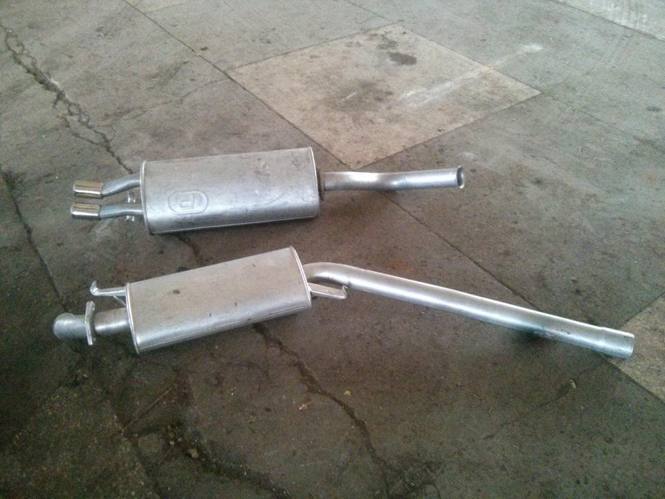 Замена резонатора ауди а6 Замена клапанной прокладки мл 163