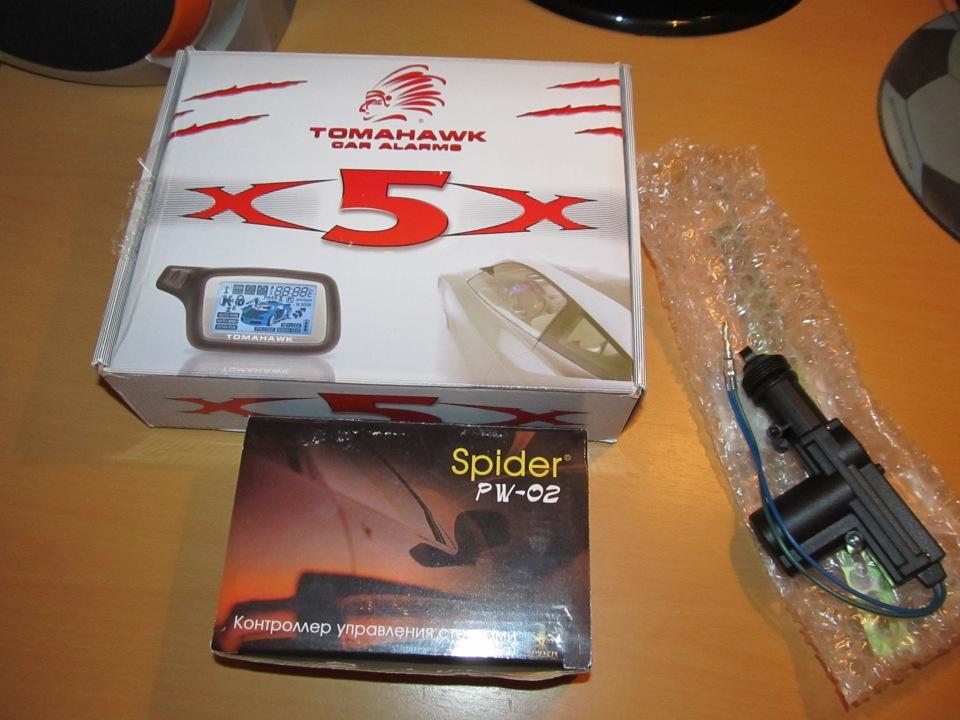 7). Охраняется TOMAHAWK X5.(Сигнализация) - бортжурнал ЗАЗ Vida black Classic 2012 года на DRIVE2