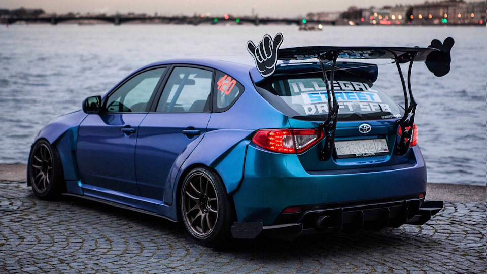 Бортжурнал Subaru Impreza Wrx Sti Drift свапнутаясучка