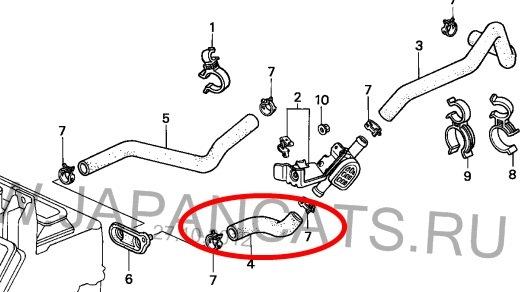 Установка радиатора и патрубков — logbook Honda Civic B20 ... промаяться