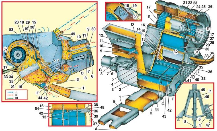 Схема отопителя ВАЗ