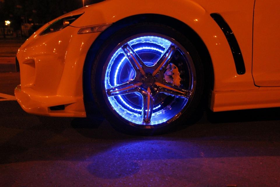Светодиодная подсветка в авто своими руками