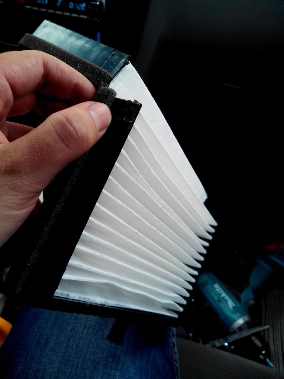 Замена салонного фильтра в лачетти своими руками 4