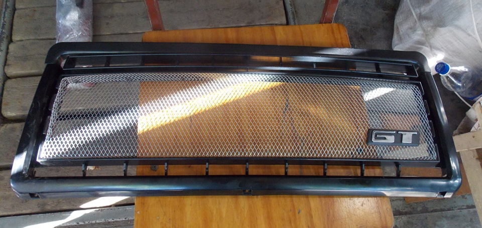 Решетка радиатора 2107 своими руками фото