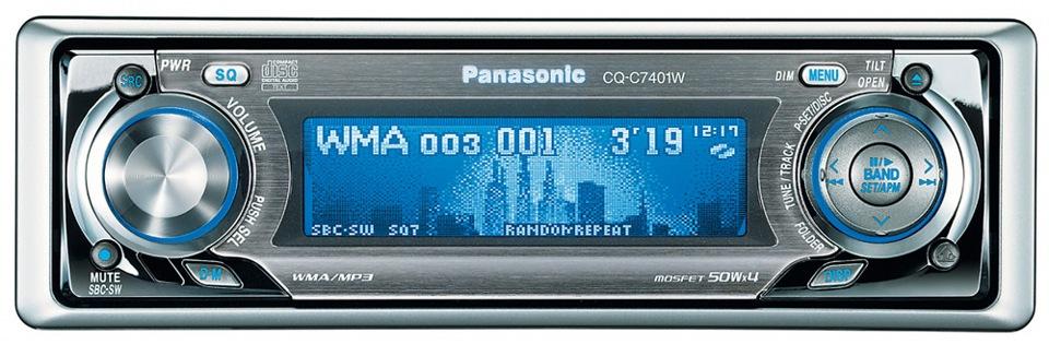 Panasonic CQ-C7401W