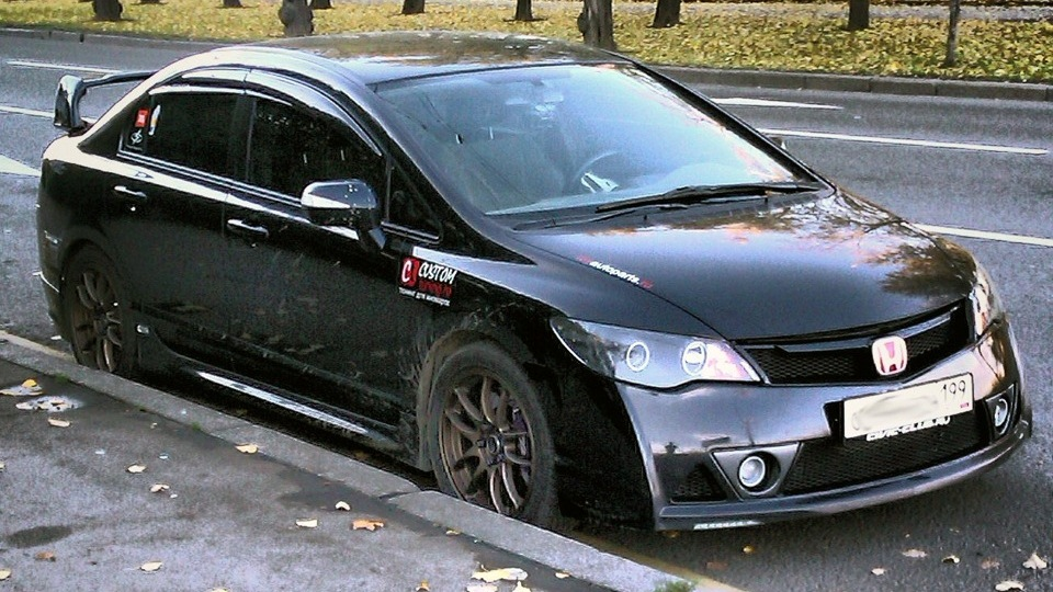 тюнинг honda civic 4d k20
