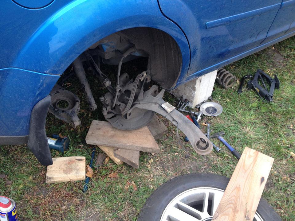 Замена задних рычагов на форд фокус 2 своими руками 107