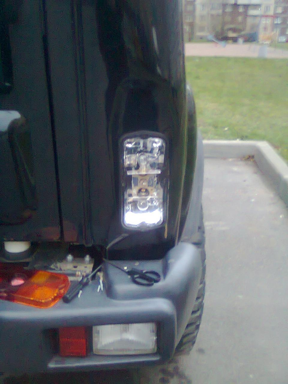 Светодиодный мощный фонарь изготовленный 70