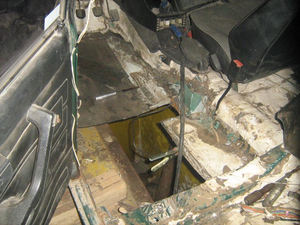 Фото №13 - ВАЗ 2110 ремонт кузова своими руками