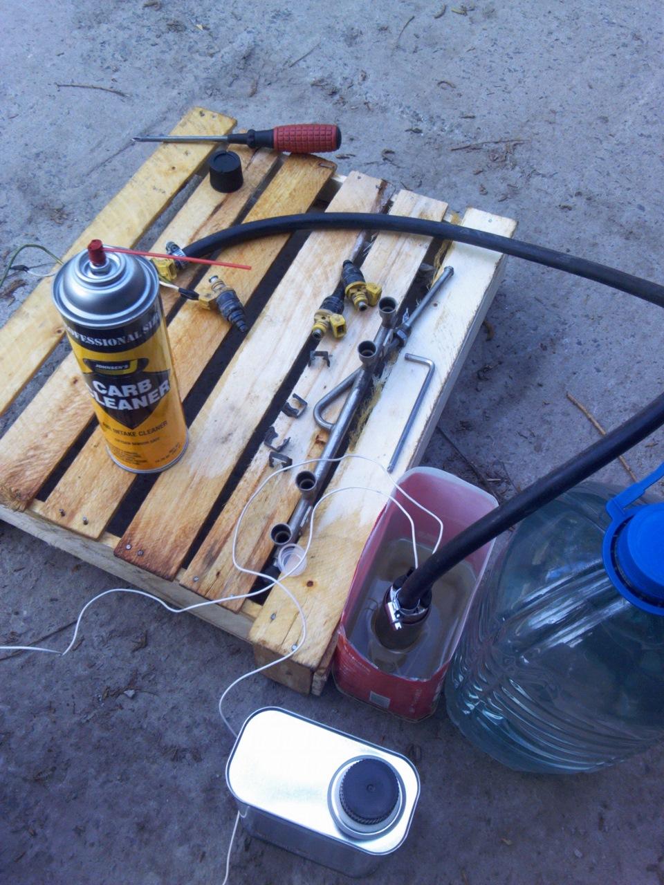 Промывка инжектора своими руками на лада калине