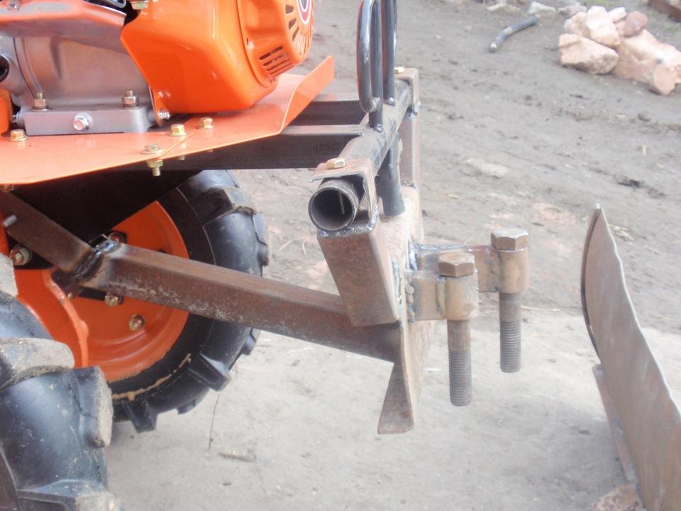 Как сделать своими руками лопату на мотоблок